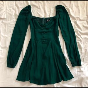 Forest Green Reformation Dress Size 0
